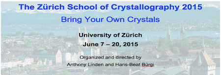 Banner ZH School Crystallography2015