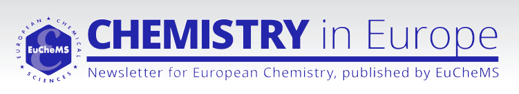 Banner ChemistryInEurope NewsletterEuCheMS