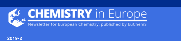 190507 ChemistryInEurope Newsletter